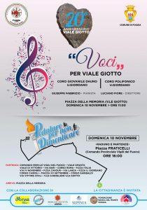 locandina iniziative 20esimo Viale Giotto